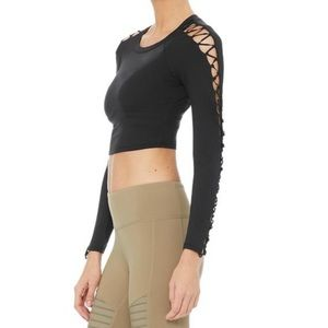 Alo Yoga High Line Long Sleeved Top